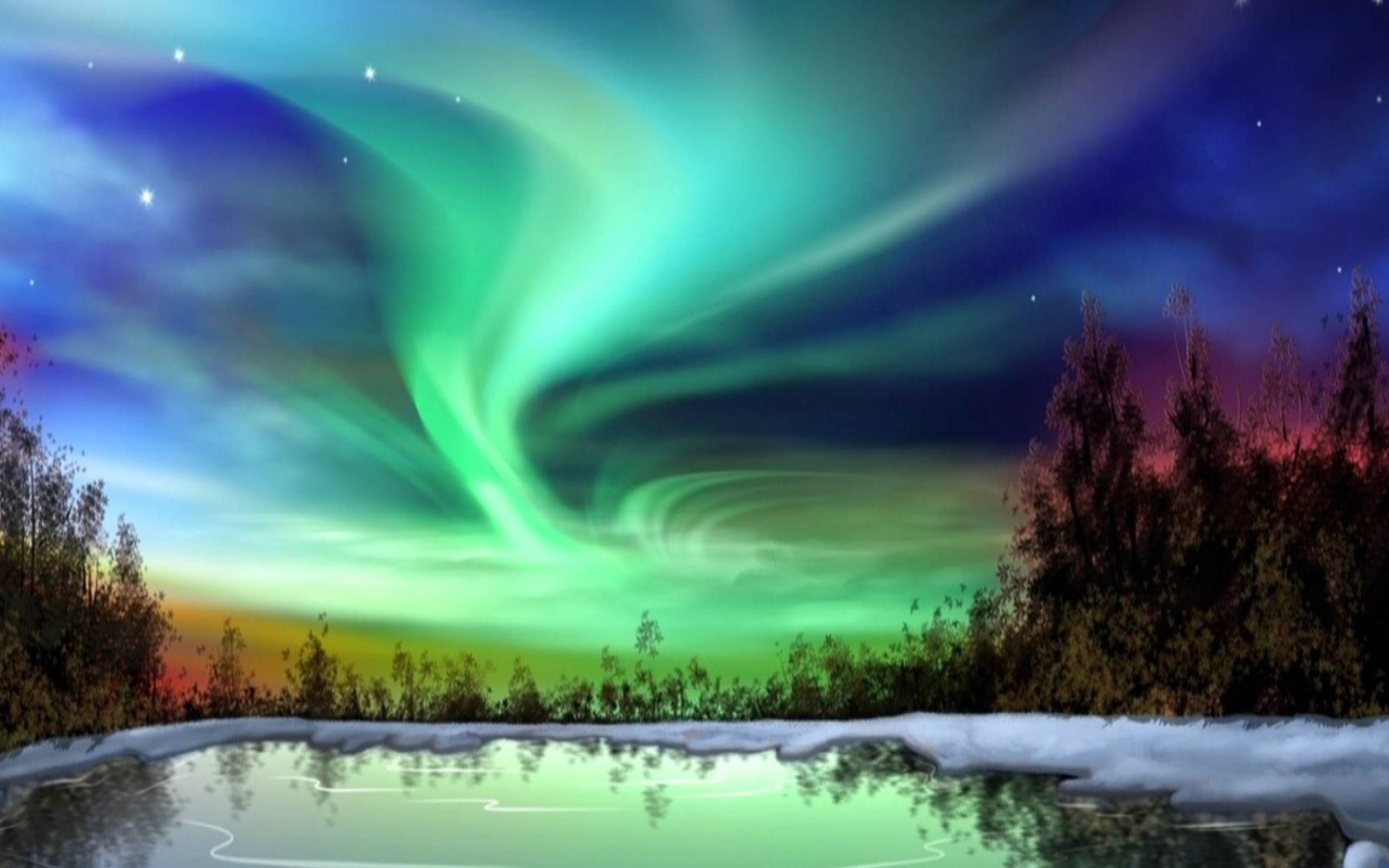 what causes the aurora borealis northern lights? dimensions