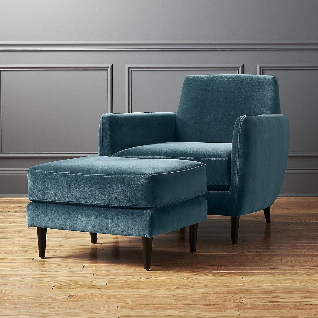 Parlour Light Blue Velvet Chair Reviews Cb2 Blue Velvet Chairs Velvet Chair Comfy Chairs
