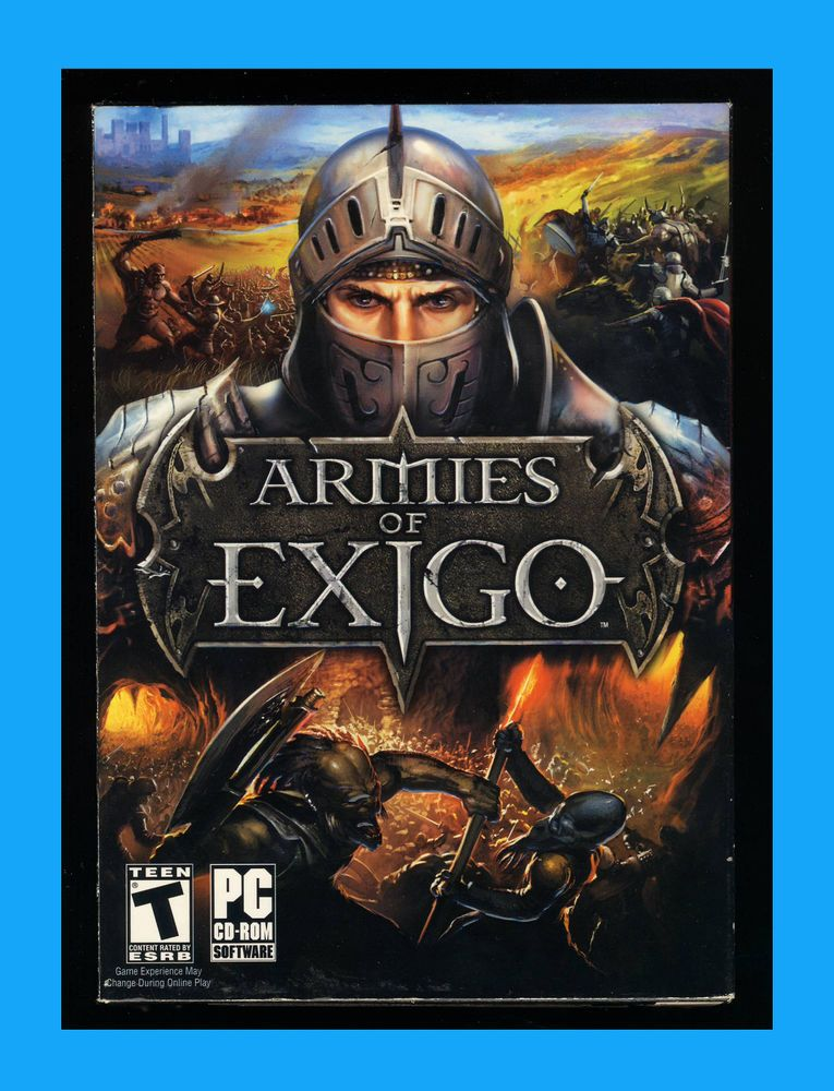 Armies Of Exigo PC-CD Windows XP/ME/2000/98SE Game EA - Complete