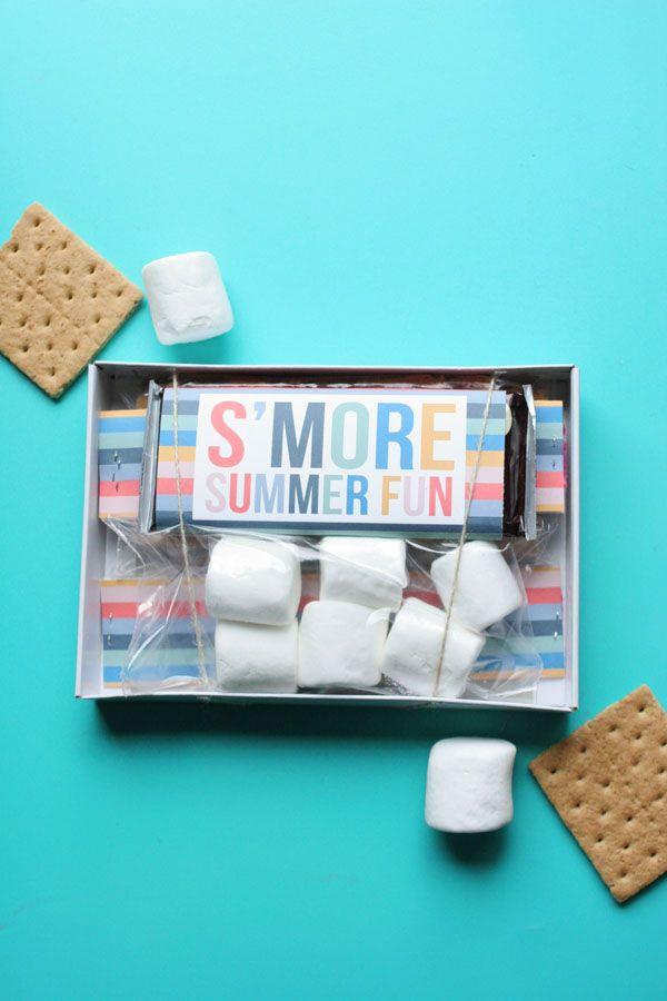 Easy Smores Kit With Free Printables Smores Kits