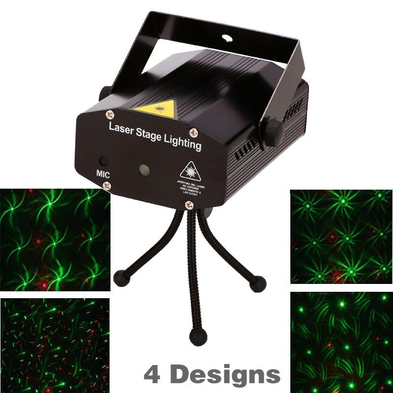 Mini Proiettore Effetto Luci Laser Per Disco Discoteca Dj.Commercio Al Dettaglio 150 Mw 4in1 Mini Laser Effetto Illuminazione
