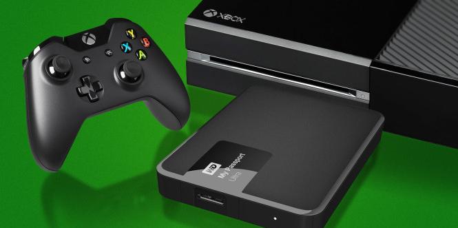 How External Storage Works On Xbox One External Hard Drive Xbox One External Storage