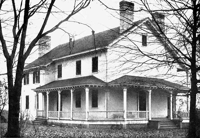 View of Zachary Taylor Home: