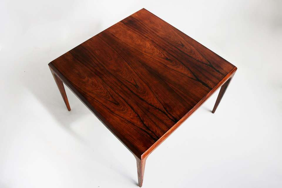 Magnificent Rosewood Coffee Table By Johannes Andersen For Cfc