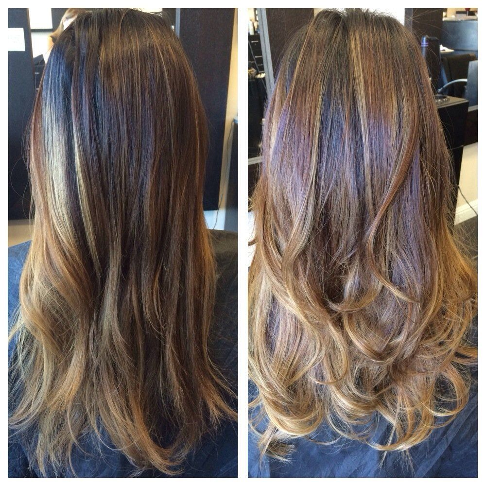 Hair By Lily , San Jose, CA, United States. Before and After.