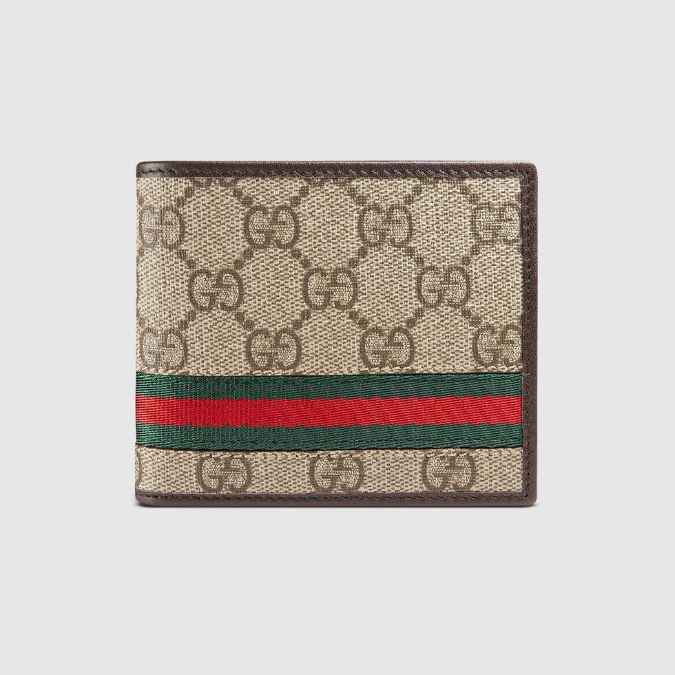 2812dc6abb0 GG Supreme web bi-fold wallet