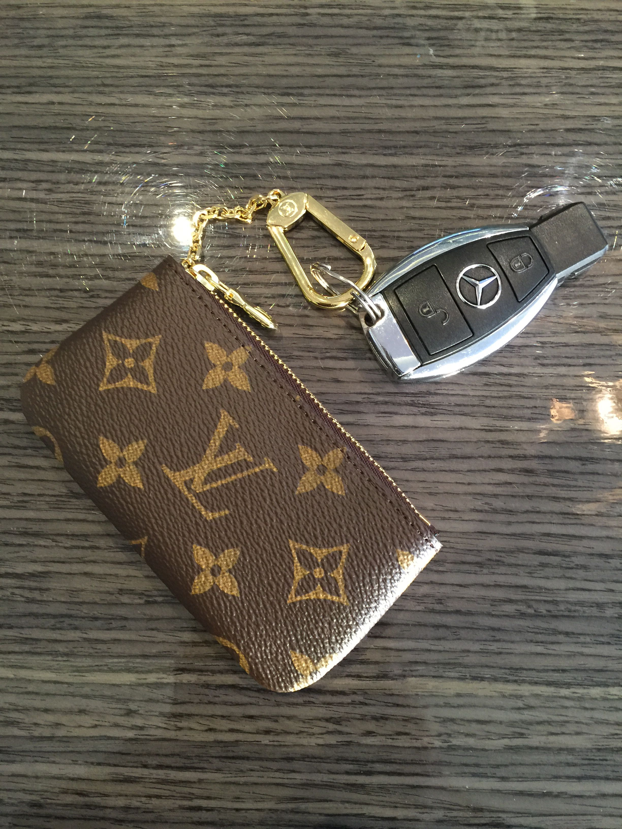 Louis Vuitton Monogram Pouch Mercedes Key Louis
