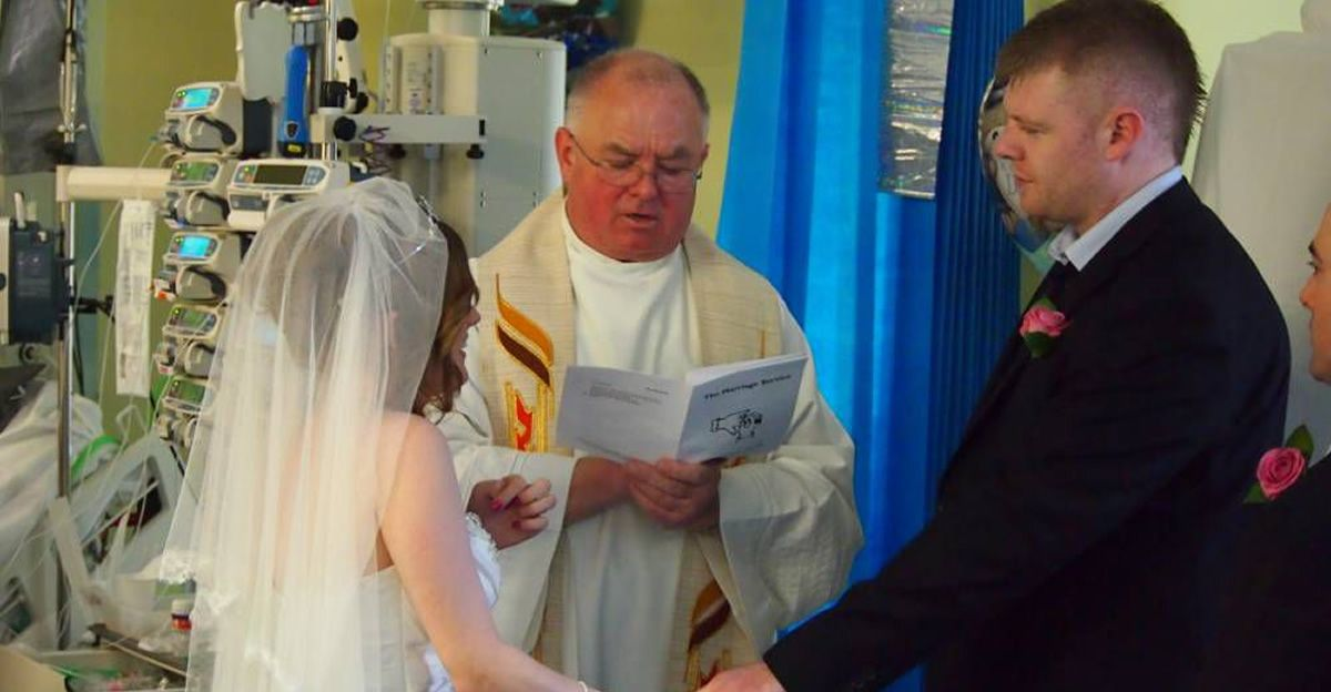 Parents Got Married at Sons Bedside to Fulfill His Dying Wish.