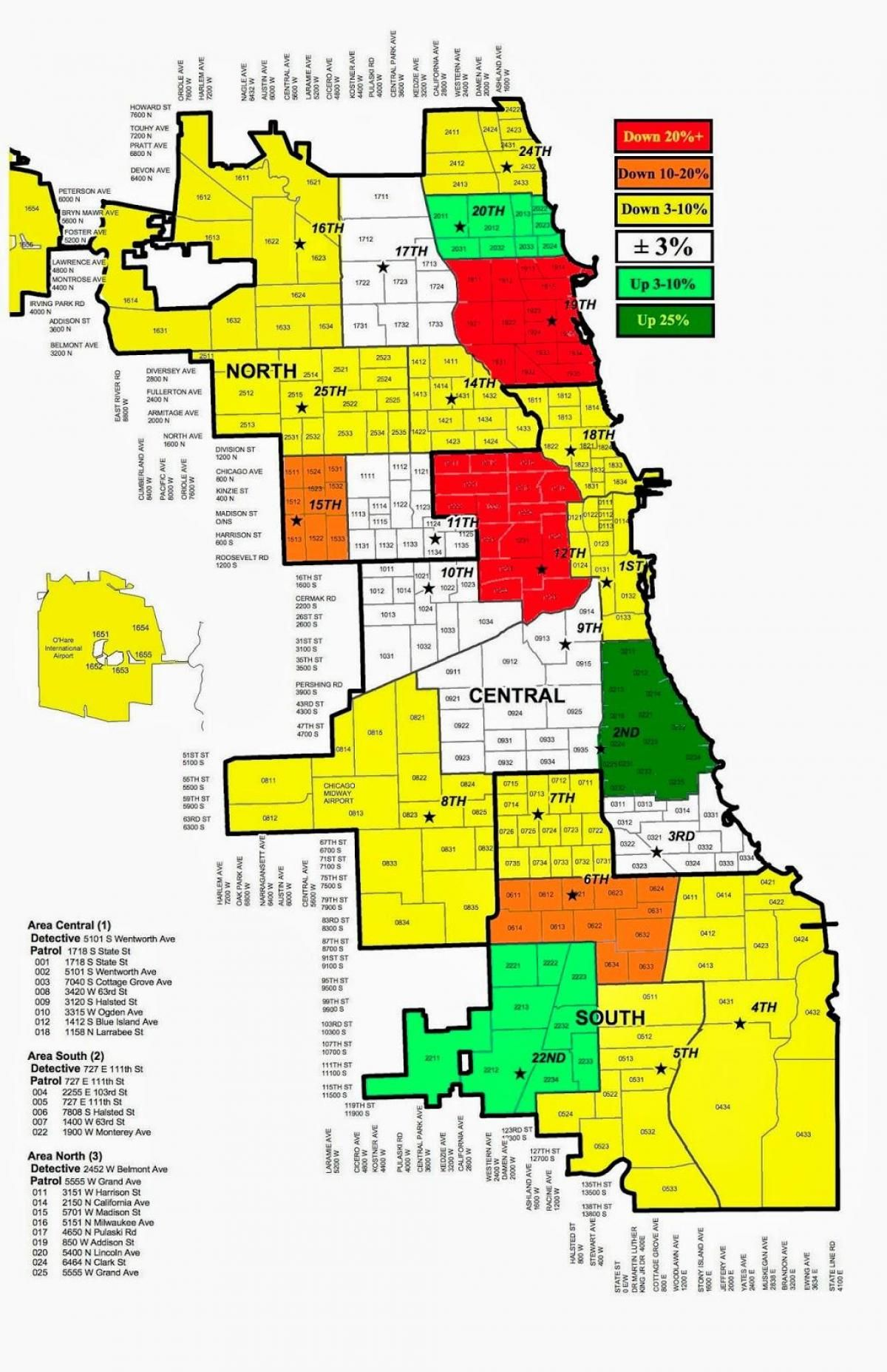 Chicago police crime map | Maps | Pinterest | Police crime, Chicago ...