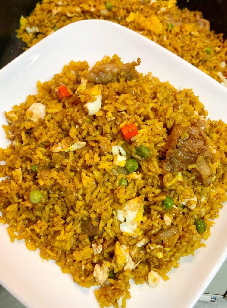 Easy Pork Fried Rice Recipe - Pattern Princess