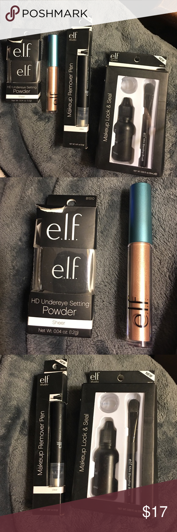 NWOT Elf 4 Products, only one opened, but not used NWOT