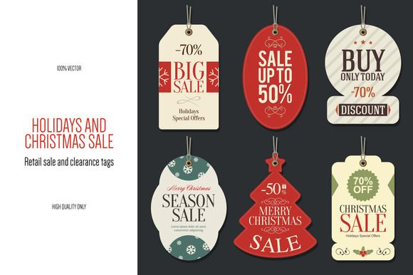 Christmas Retail Sale Tags  Retail Popular Logos And Logo