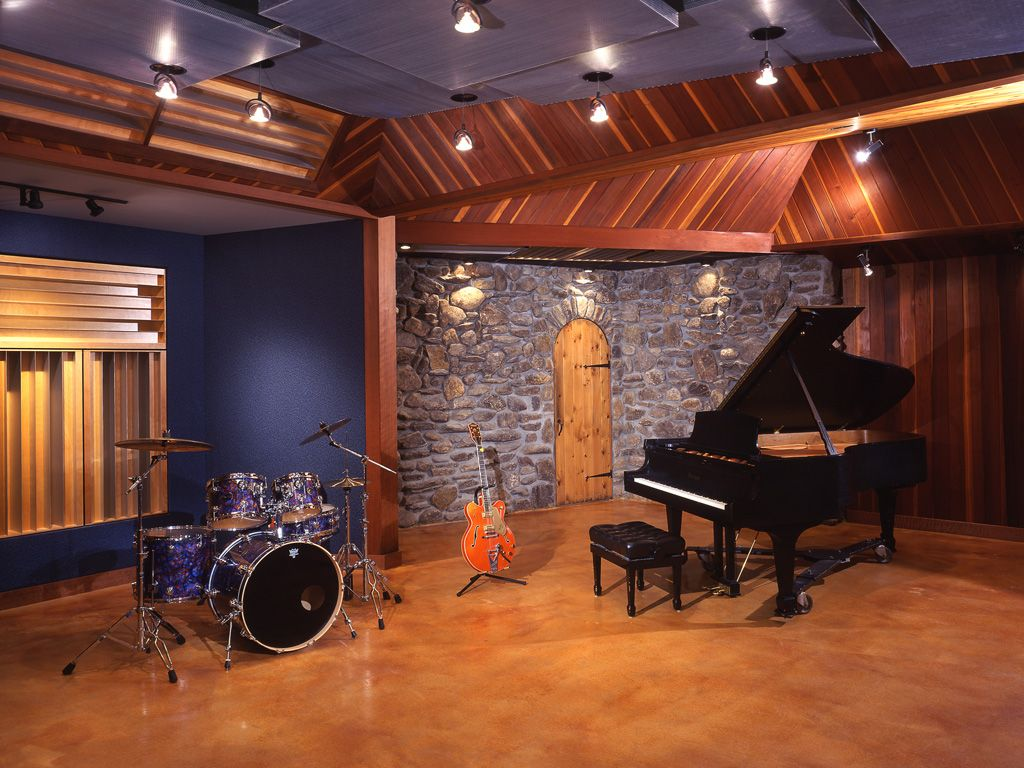 Why you should learn to play an instrument recording for Recording studio layout