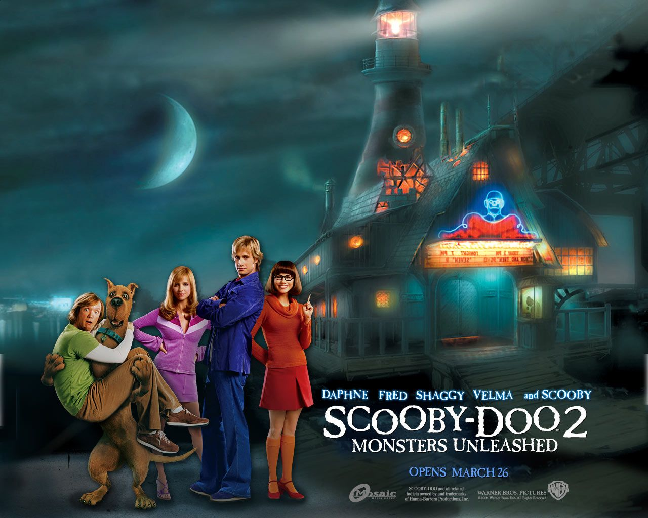 Now Playing Scooby Doo 2 Monsters Unleashed 2004 Scooby Doo Mystery Inc Scooby Doo Mystery Incorporated Scooby Doo