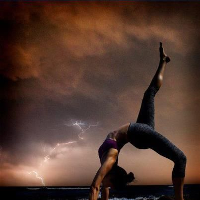 the calm within the storm  beautiful yoga poses