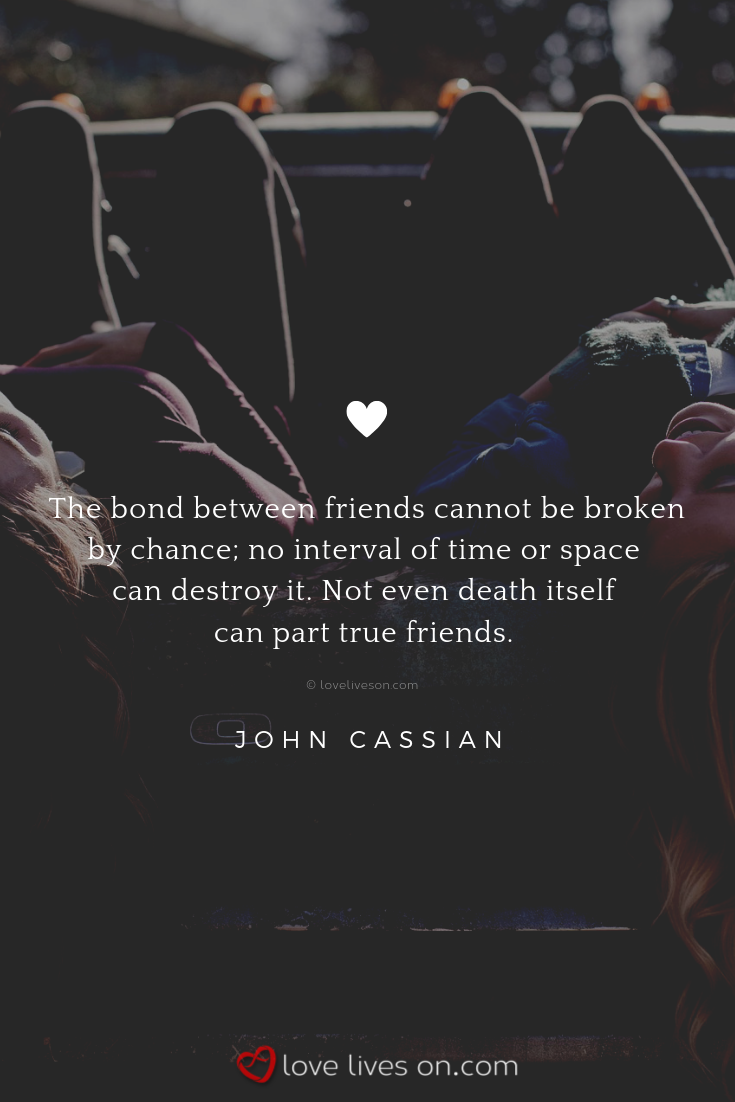 Friends Death Quote