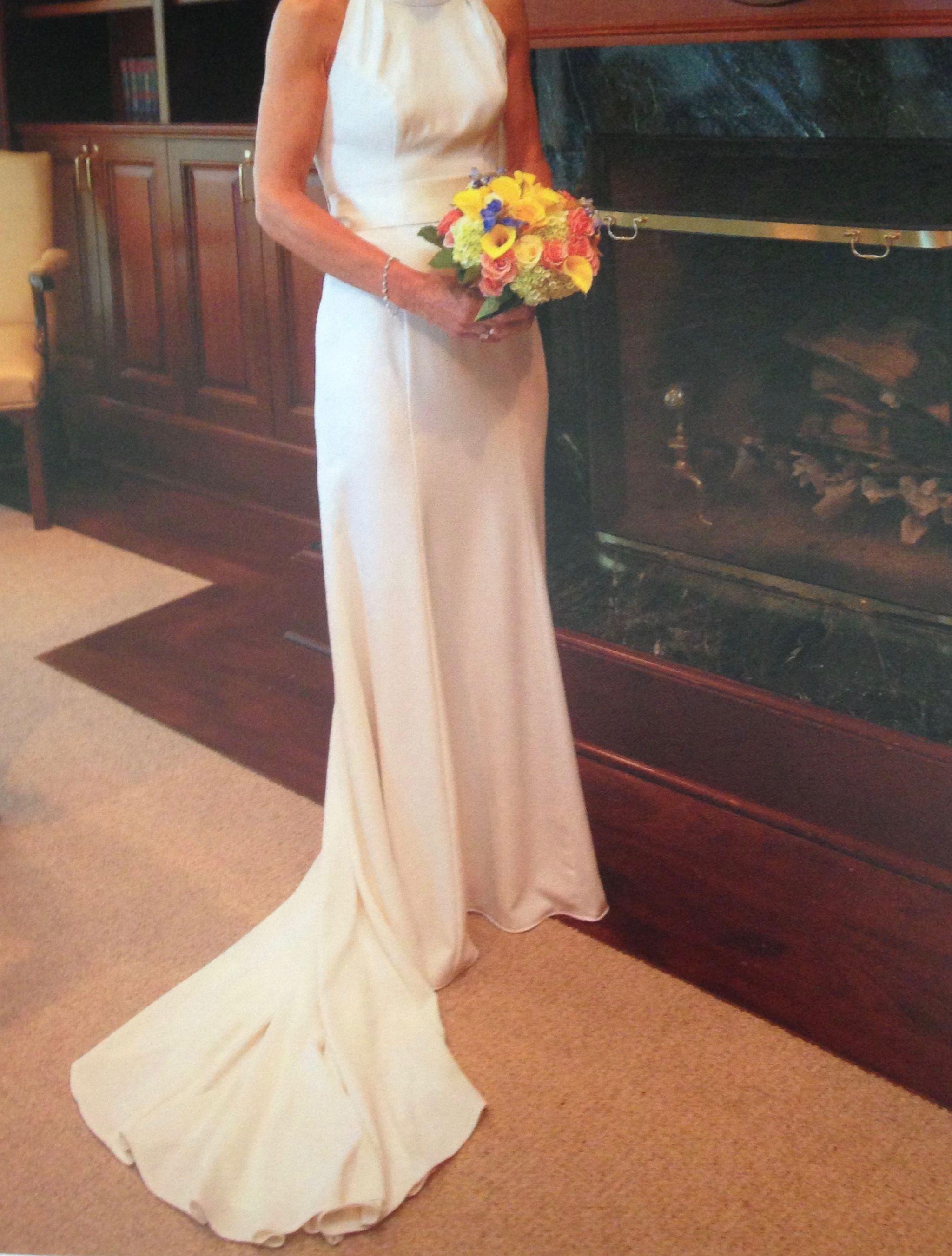 4b7a32f0eef15 Vera Wang White VW351263 4 White By Vera Wang, Used Wedding Dresses