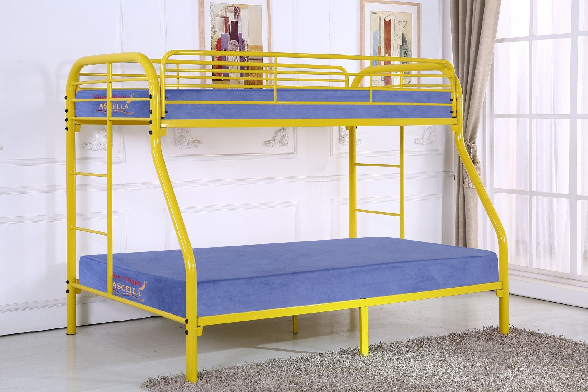 Twin over full loft bed with stairs  Kilgraston Twin over Full Bunk Bed  Products  Pinterest  Full