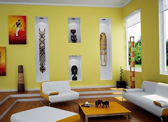 Bright interiors in African style | Home Interior Design, Kitchen ...