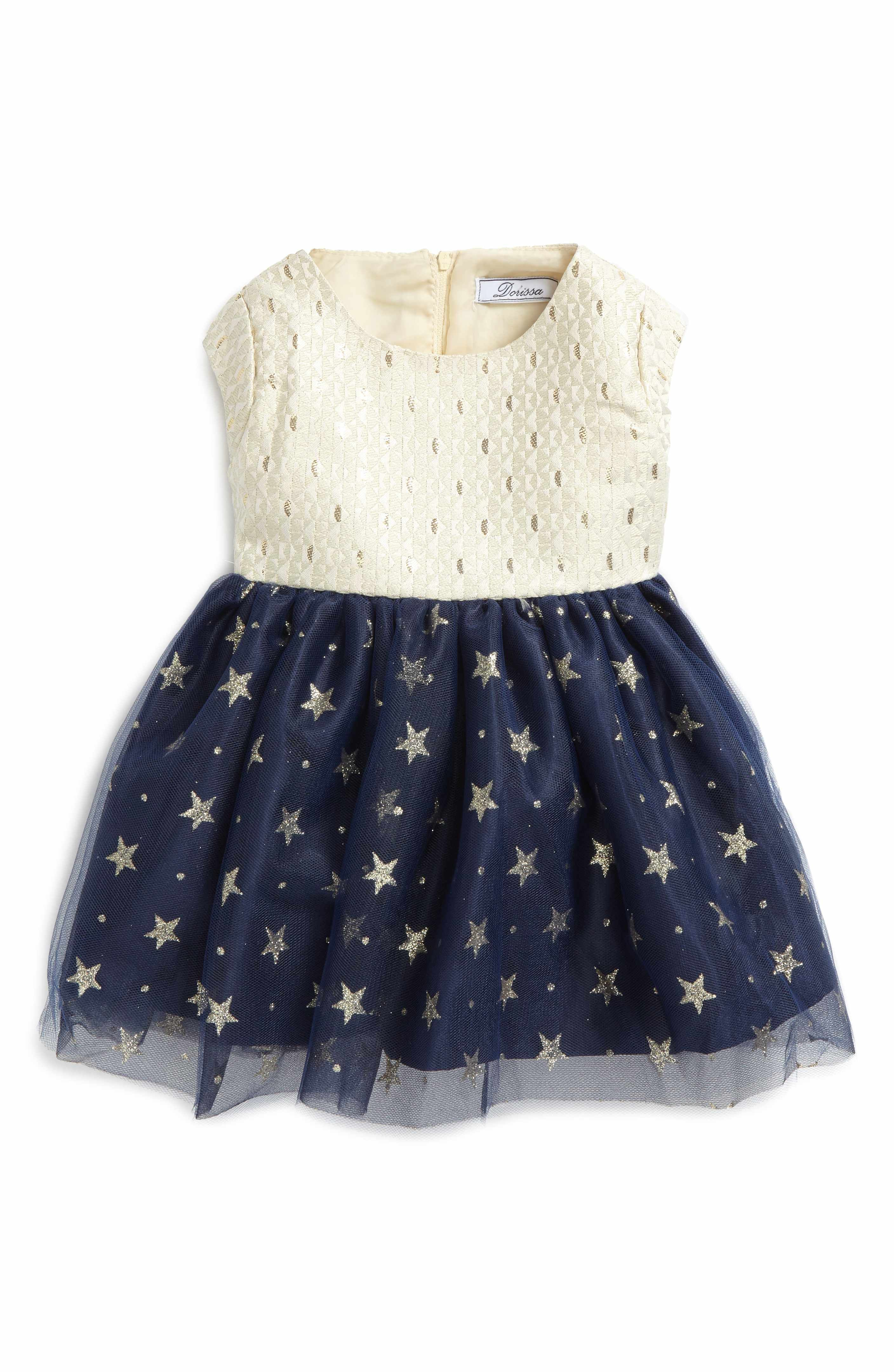 Main Image Dorissa Kerry Fit & Flare Dress Baby Girls