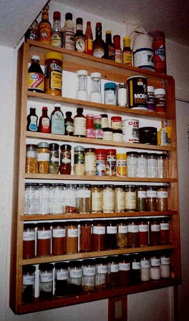 Marvelous I Think Iu0027ll Have One Of These Made For Me :) Spice Racks