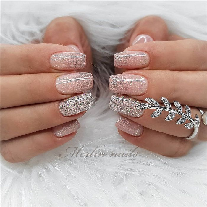 Wedding Nail Ideas For Summer: 70+ Wedding Natural Gel Nails Design Ideas For Bride 2019