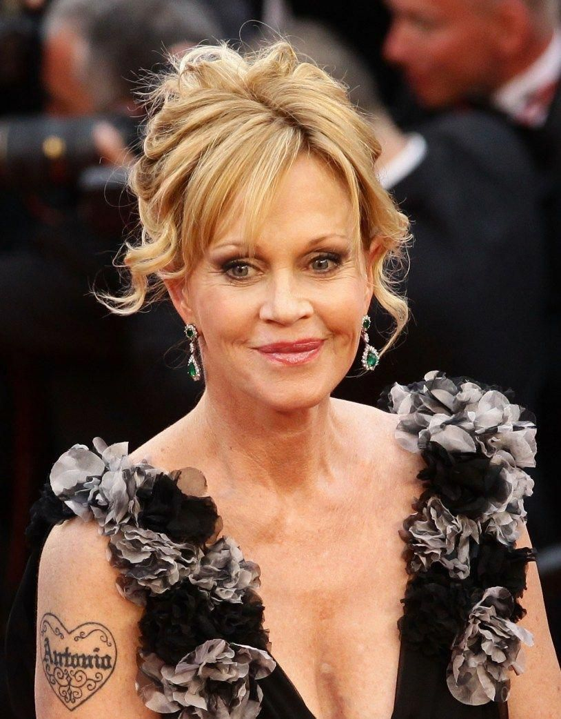 Melanie griffith and 6 other celebrities who had tattoos