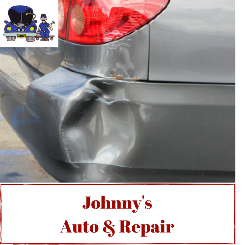 Do You Have Dent In Your Car Johnny S Auto And Repair Can Fix
