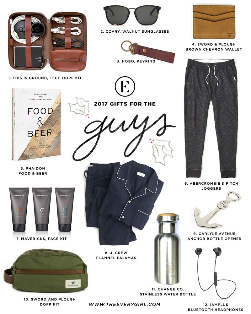 The Everygirl 2017 Holiday Gift Guide for the Guys