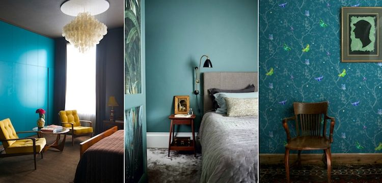 Chambre bleu canard avec quelle couleur : toutes nos idées inspirantes ! | Chambre bleu, Chambre ...