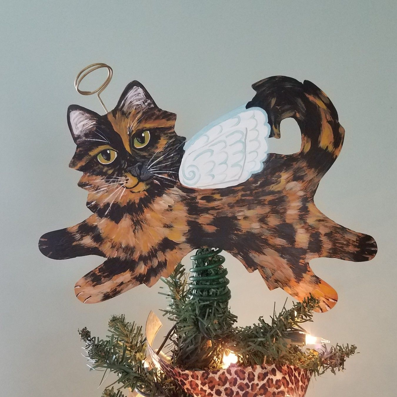 Pin by KittyCat Art Studio on Christmas Tree Toppers
