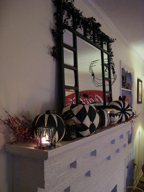 halloween mantle decorations Decoration, Holidays and Halloween ideas