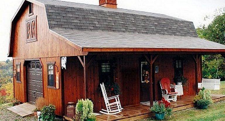 These Amish Barn Homes Start At 11 585 Amish Barns Barn