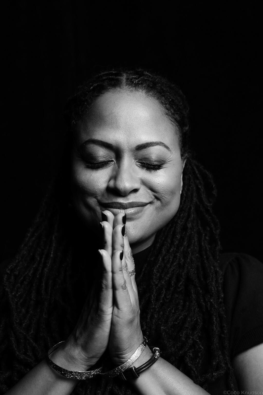 Ava duvernay people and portraits in black and white photography