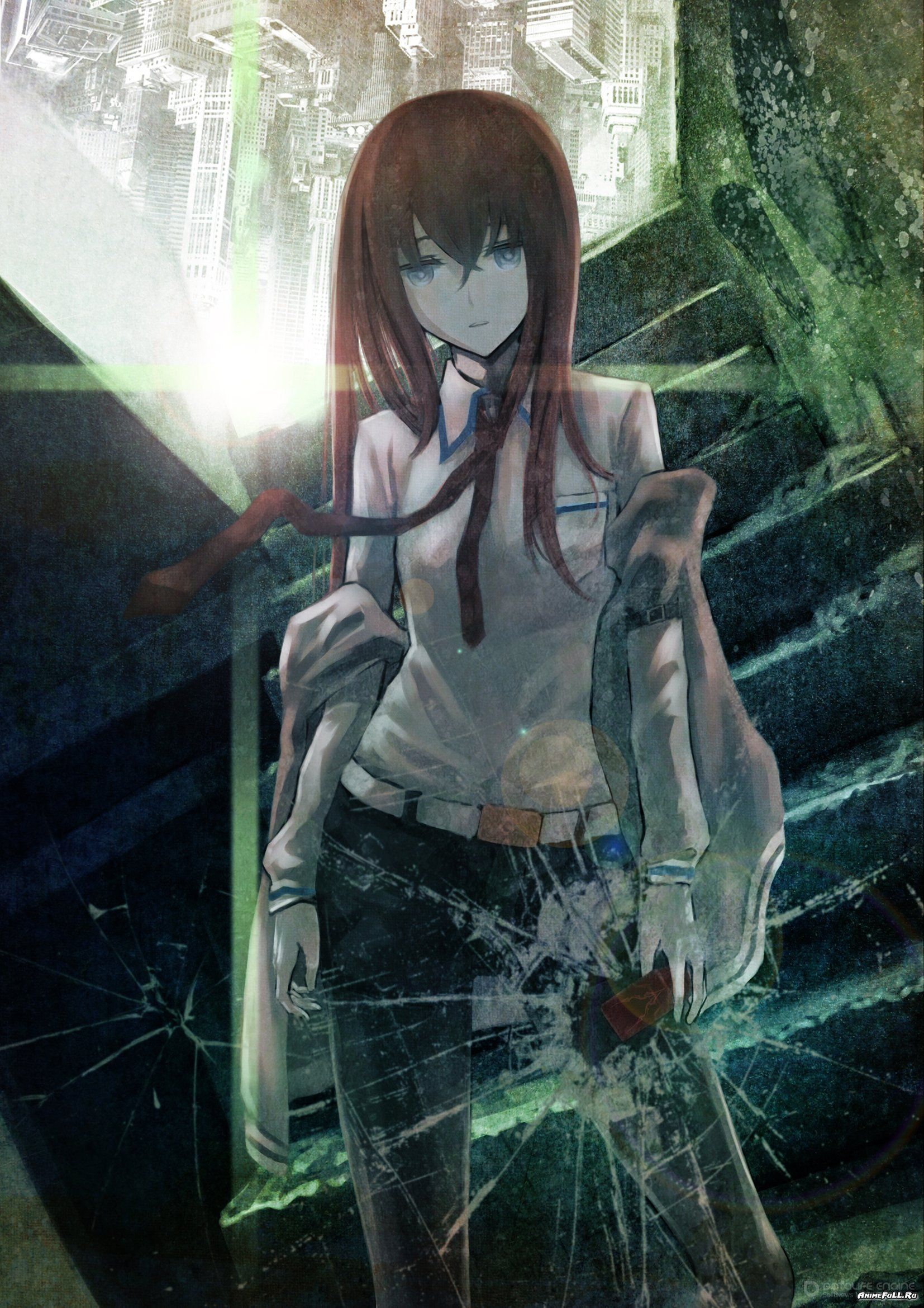 Strong-Willed Steins Gate Makise Kurisu El Psy Congroo Printed Tee Shirt Short Sleeve T-shirt Anime Costumes Back To Search Resultsnovelty & Special Use