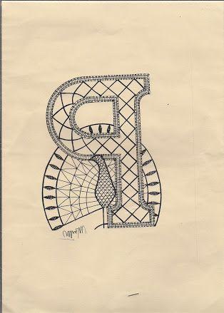 afbeelding abc door helga zach kantklossen patronen