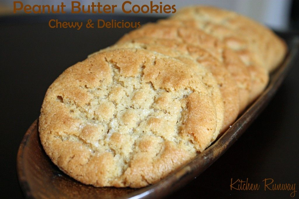 Peanut Butter Cookies - Kitchen Runway