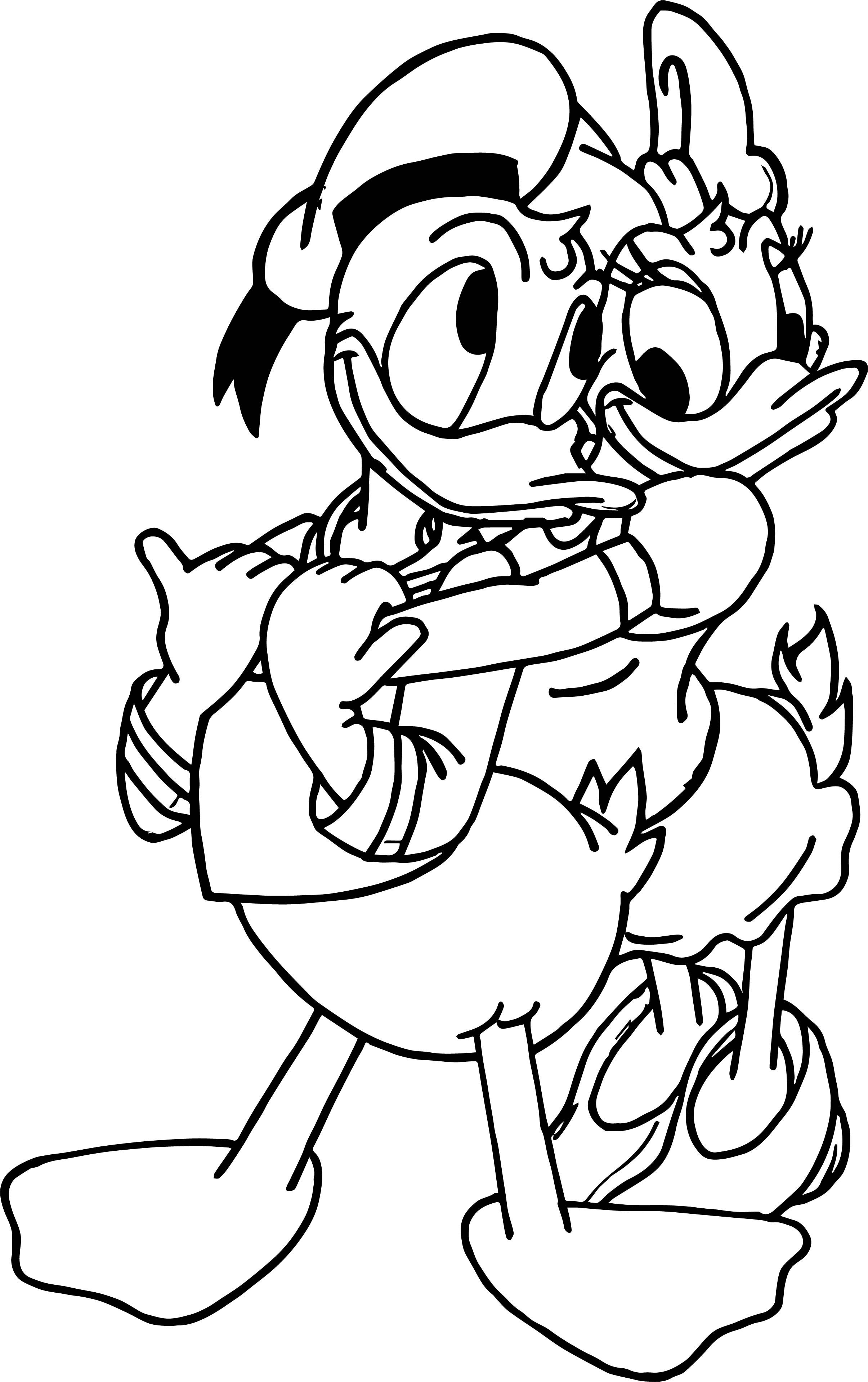 Cool Disney Donald Duck And Daisy Duck Murals For Baby Bedroom Decoration Ideas Coloring Page Cartoon Coloring Pages Donald And Daisy Duck Coloring Books