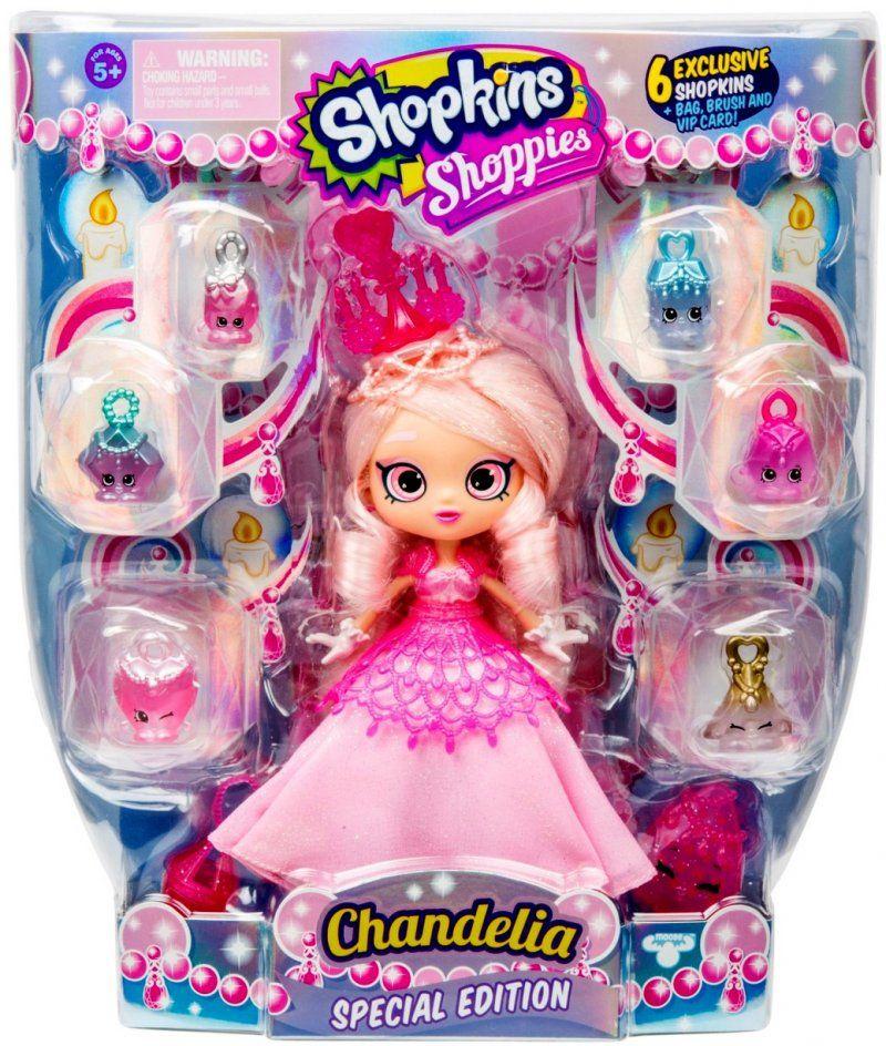 Shopkins Shoppies Season 7 None Moose Special Edition Chandelia Pink