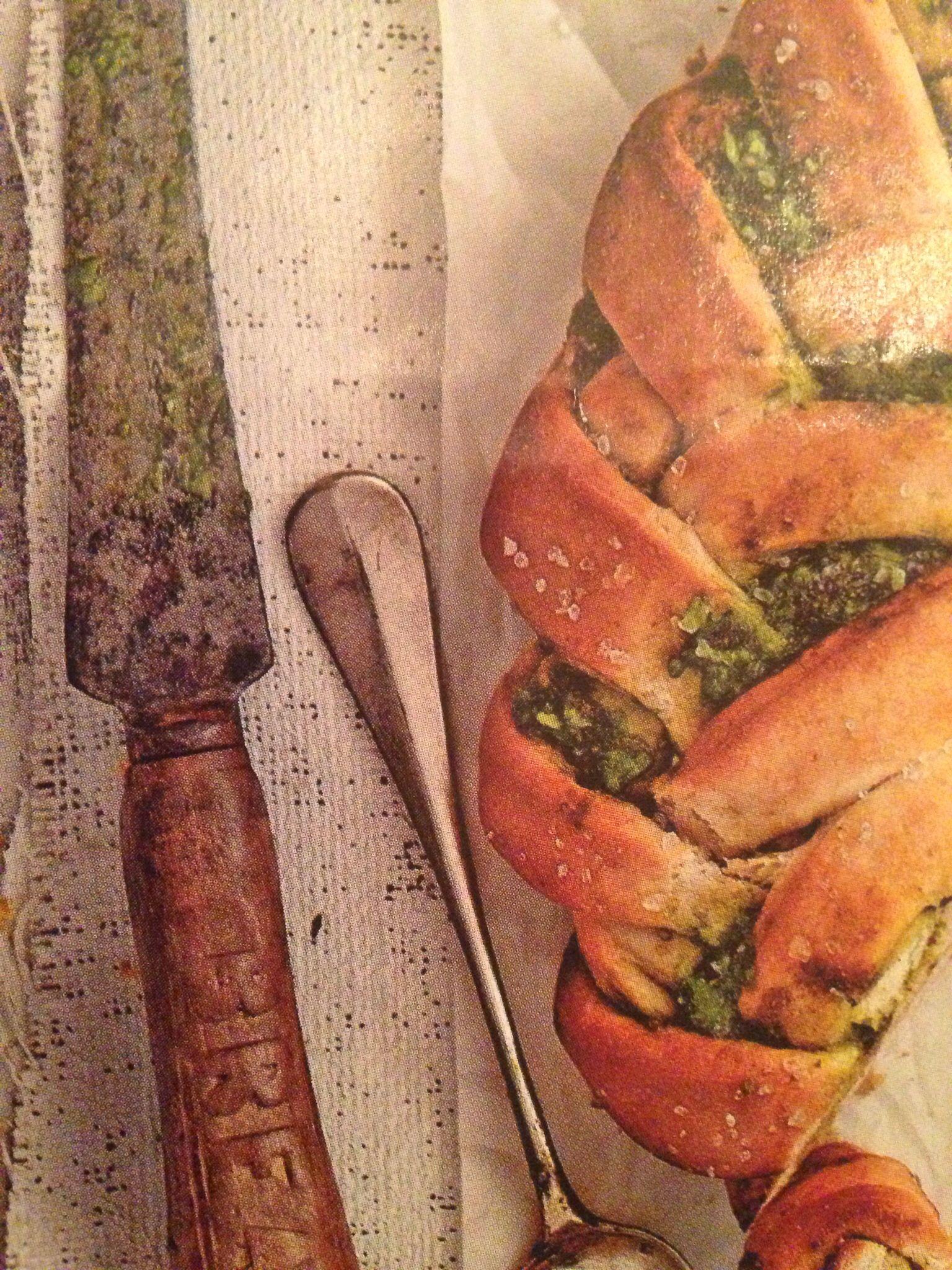 Pesto krans...Een van onze favorieten