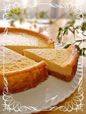 簡単 ケーキ ベイクド チーズ