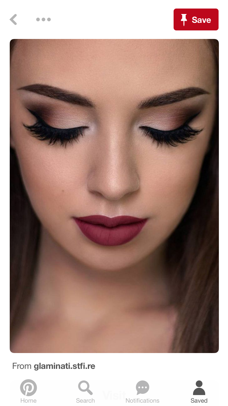 Beauty Cat Eyes Clique In 2019 Pinterest Prom Makeup