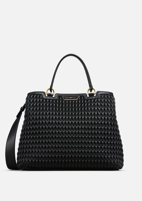 f59e48a148 Bags: Shoppers Women by Armani - 1 | Vegan Handbags | Emporio armani ...