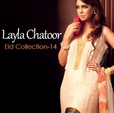 Layla Chatoor Eid Dresses 2014 | Summer Eid Dress Collection - She9 | Change the Life Style