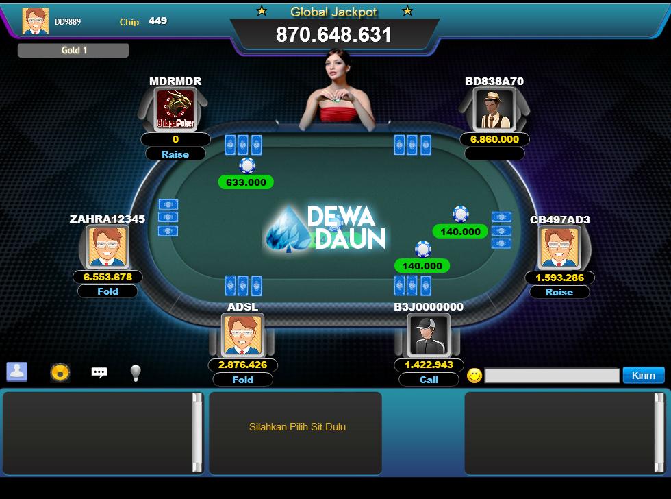 Pin oleh Dewa Daun di Poker Online | Poker, Indonesia
