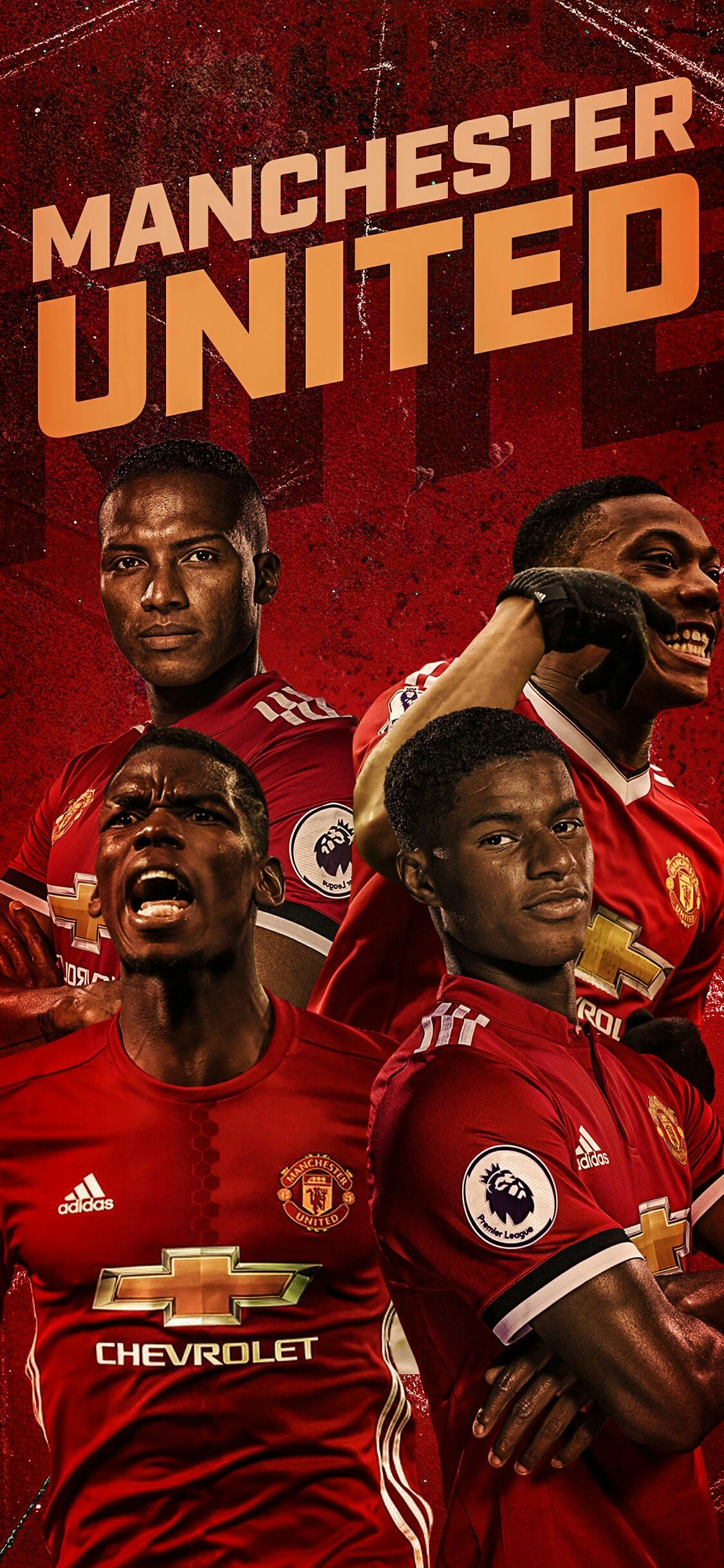 Get Awesome Manchester United Wallpapers Players #TheRedDevils
