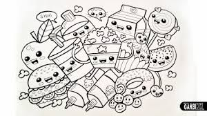 Image Result For Kawaii Food Coloring Pages