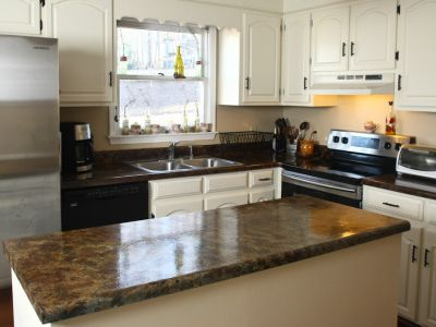 How To Paint Formica Countertops To Look Like Granite For