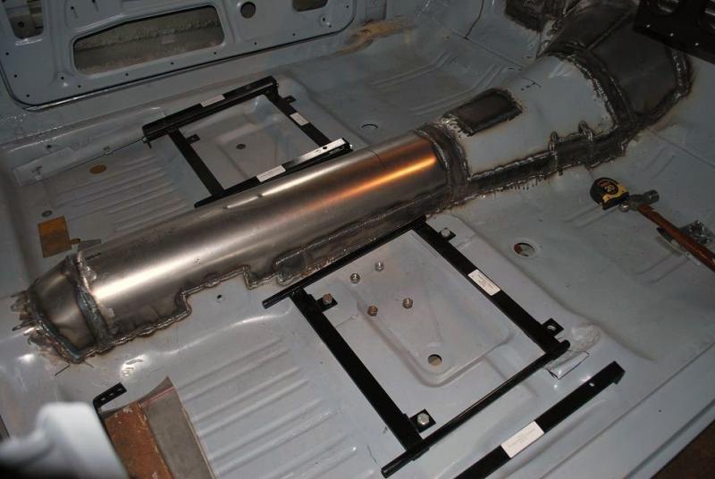 Interior Shot Of Custom Transmission Tunnel On 76orangewagon S 73 Duster Custom Metal Fabrication Metal Fabrication Mopar