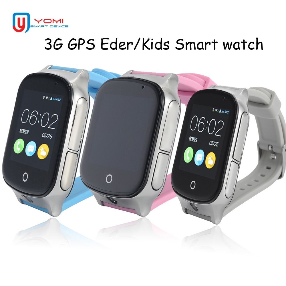 Smart Watches Child 3g Smart Watch Remote Camera Gps Lbs Wifi Location Kids Watch Gps 1.54 Touch Screen Smart Sos Tracker For Ios Android Smart Electronics